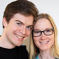 Sandra and Gerhard