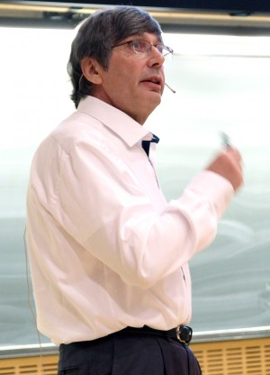 The 2010 Noble Prize Winner in Physics, Sir Andre Geim. Photo: Per Henning/NTNU